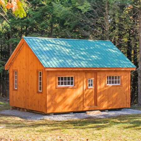 Ezgarage home for Maine home building packages