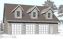 Plain 3 Car Garage Plans With Apartment Great 2 Bedroom Above The
