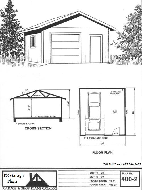 Ez Garage Plans