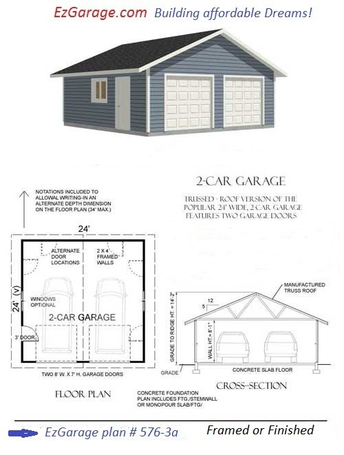 Concrete Block Garage Plan - Hotfrog - Your Business Directory